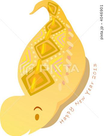つちのこ ヘビ ツチノコのイラスト素材 Pixta