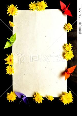 クリスマス 折り紙 折り紙 菊 : pixta.jp