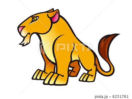 ウィンディさん(No.117390)のライオン 猛獣 イラスト素材 , PIXTA