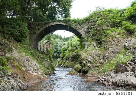 筏場眼鏡橋の写真素材 - PIXTA