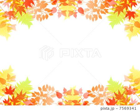 輝く 金 背景 きれい 紅葉 風景 イラスト 自然 秋の写真素材 Pixta