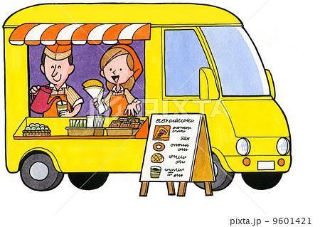 移動販売車の写真素材 Pixta