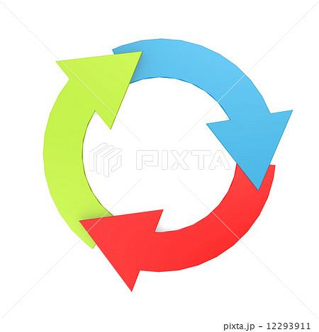 45回転 矢印 4のイラスト素材 Pixta