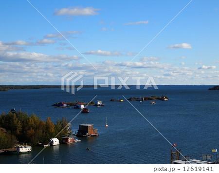 グレートスレーヴ湖の写真素材 -...