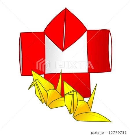 ハート 折り紙:やっこ 折り紙-pixta.jp