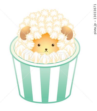 カップケーキ 動物 アニマル スイーツのイラスト素材 Pixta