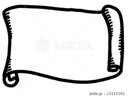 巻き物のイラスト素材 Pixta