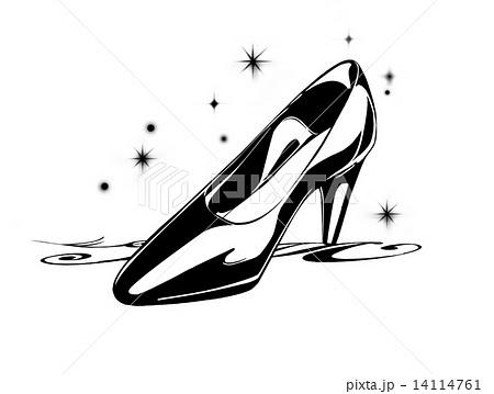ガラスの靴の写真素材 , PIXTA