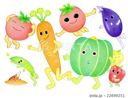 野菜 妖精 擬人化 トマトのイラスト素材 Pixta