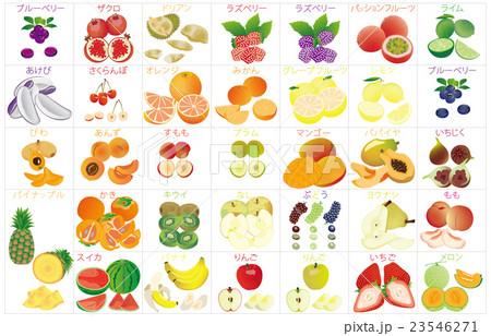 カットフルーツのイラスト素材 Pixta