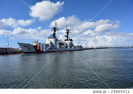 アメリカ沿岸警備隊の写真素材 -...