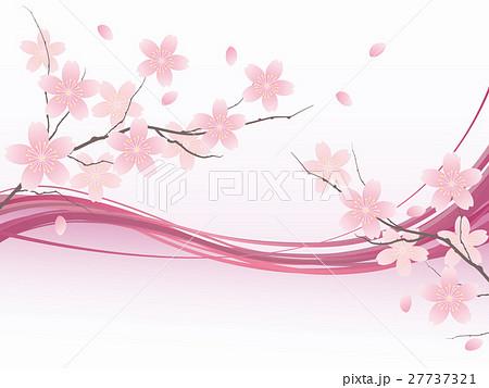 桜のイラスト素材集 Pixtaピクスタ