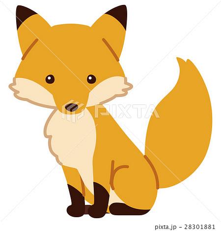 キツネ狐のイラスト素材集 Pixtaピクスタ