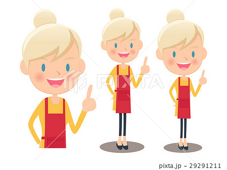 女性 全身 金髪 ロシア人の写真素材 Pixta