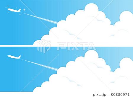 飛行機雲のイラスト素材集 Pixtaピクスタ