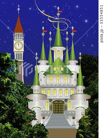 西洋のお城のイラスト素材 Pixta
