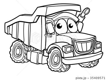 Dump Truck Illustrations