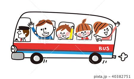 バス観光バスのイラスト素材集 Pixtaピクスタ