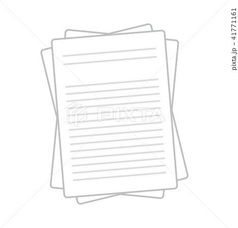 「書類 イラスト」の画像検索結果