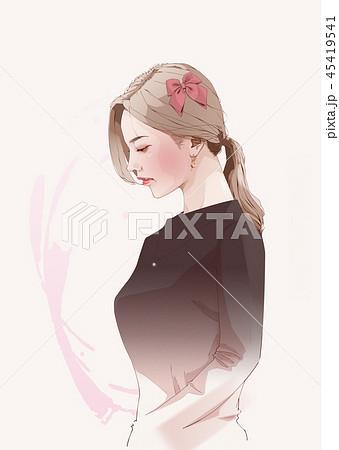 美麗 綺麗 女のイラスト素材 Pixta