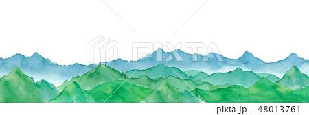 八ヶ岳のイラスト素材 Pixta