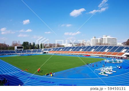 陸上競技場 駒沢オリンピック公園 トラック スタジアムの写真