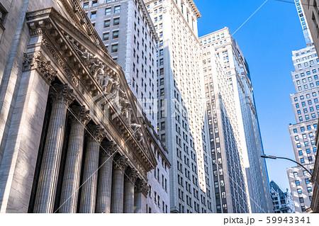 ウォール街の写真素材 - PIXTA